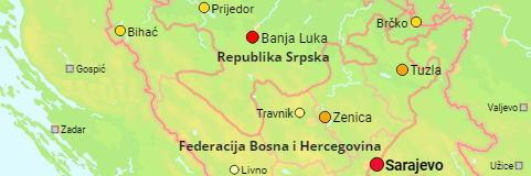 Bosnia Cities