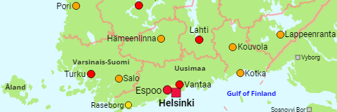 Finland Cities