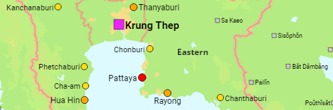 Thailand Major Cities, Towns and Communes