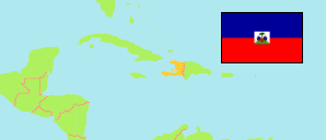 Haiti Departments Major Cities Towns Agglomerations - Haiti major cities map