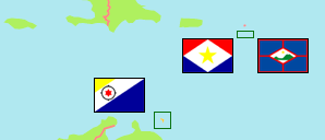 Caribbean Netherlands Map