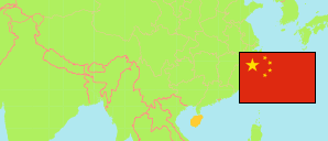 Hainan (China) Map