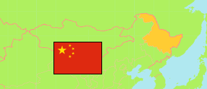 Heilongjiang (China) Map