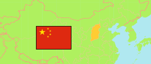 Shanxi (China) Map
