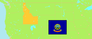 Idaho (USA) Map