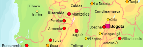 Colombia Cities