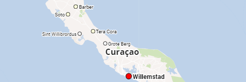 Curaçao island and places