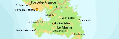 Frankreich Karte Stadte.Frankreich Regionen Departements Arrondissements Stadte
