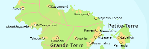 Frankreich Departements Karte.Frankreich Regionen Départements Arrondissements Städte