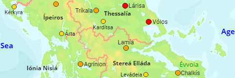 Greece Agglomerations