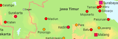 Indonesia Cities and Urban Settlements