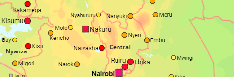 Kenya Cities