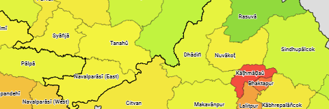 Nepal: Provinces, Zones, Districts, Cities, Urban