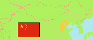Hebei (China) Map