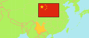 Yunnan (China) Map