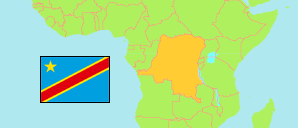 Congo (Dem. Rep.) Map