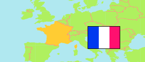 Normandie / Normandy (France) Map
