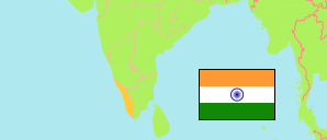 Kerala (India) Map