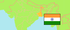 West Bengal (India) Map
