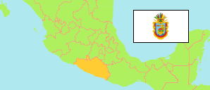Guerrero (Mexico) Map