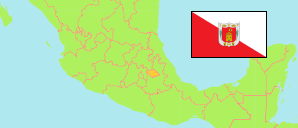 Tlaxcala (Mexico) Map