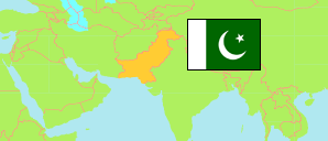 Sindh (Pakistan) Map