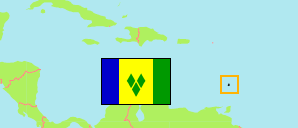 St. Vincent and the Grenadines Map