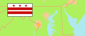 District of Columbia (USA) Map