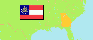 Georgia (USA) Map